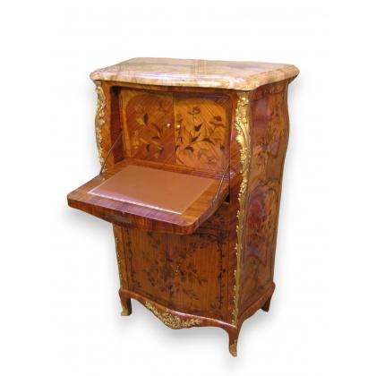 Secrétaire style Louis XV en bois de