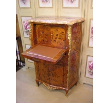 Secretary Louis XV style wood