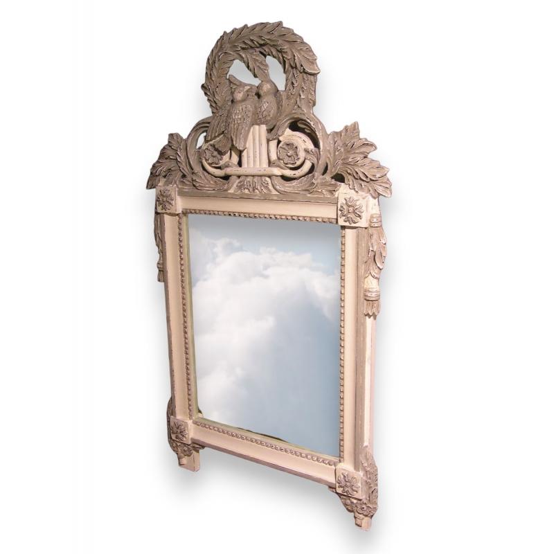 Miroir cadre aux oiseaux sur moinat sa antiquit s d coration for Miroir cadre miroir