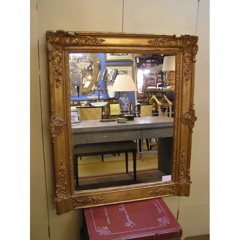miroir louis philippe dor sur moinat sa antiquit s d coration. Black Bedroom Furniture Sets. Home Design Ideas