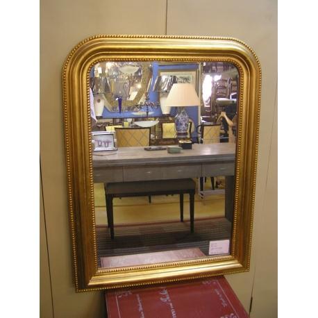 miroir style louis philippe dor sur moinat sa antiquit s d coration. Black Bedroom Furniture Sets. Home Design Ideas