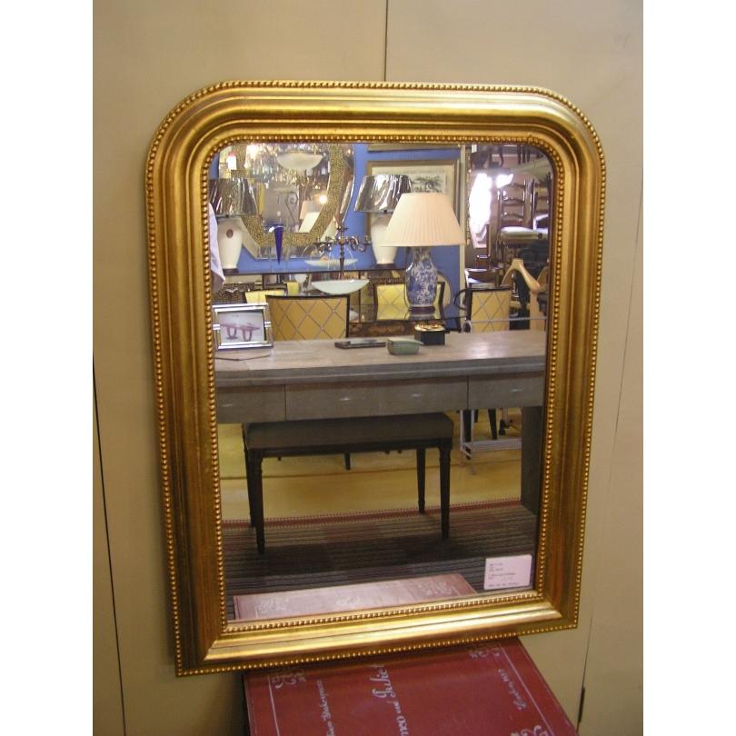 miroir style louis philippe dor sur moinat sa. Black Bedroom Furniture Sets. Home Design Ideas