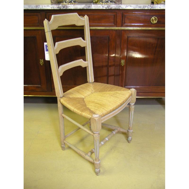 Chaise style louis xvi paill e c rus e moinat sa antiquit s d coration - Chaise style louis xvi ...