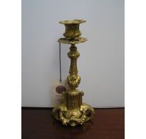 Pair of candlesticks Napoleon III in