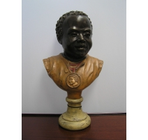 Bust of a black child