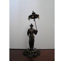 """Bronze """"Chinois avec ombrelle"""""""