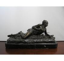 """Bronze copie de DUCHOISELLE """"Indien"""