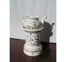 Tisanière en porcelaine, 19ème