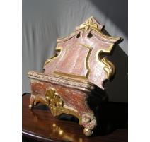 Petit lutrin Baroque doré, 18ème siècle