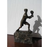 """Bronze """"Tennisman"""""""