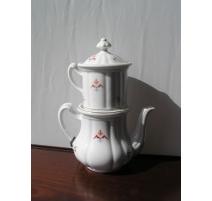 Tisanière porcelain