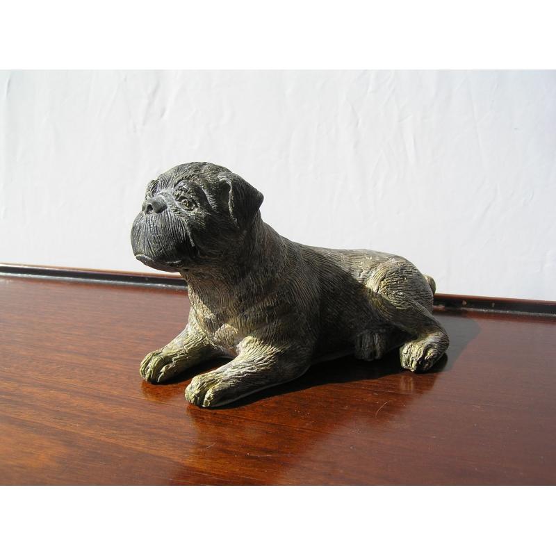 bronze chien assis sur moinat sa antiquit s d coration. Black Bedroom Furniture Sets. Home Design Ideas