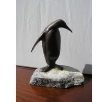 """Bronze """"Pingouin"""" de Charles REUSSNER"""