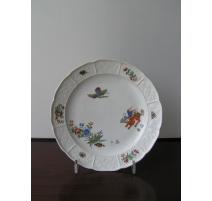 Assiette de Meissen en porcelaine,