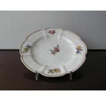 Assiette en porcelaine de Hochst, décor
