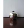 Petit vase boule en argent 800 JEZLER