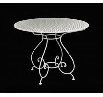 Table en fer forgé de fabrication