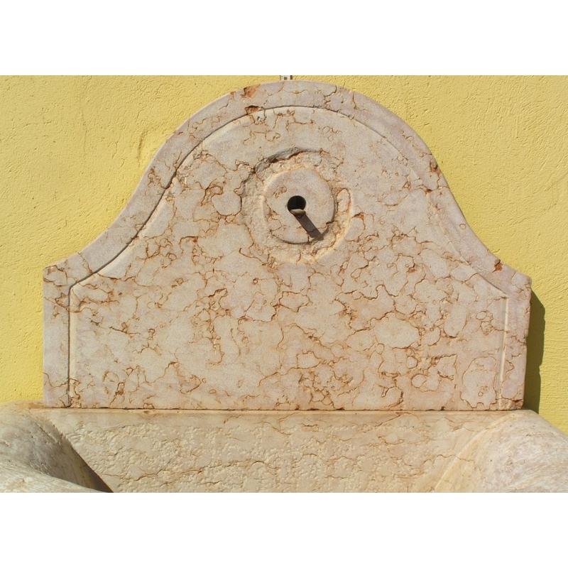 fontaine murale en marbre rose sur moinat sa antiquit233s