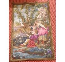 """Tapestry """"pastoral scene"""""""