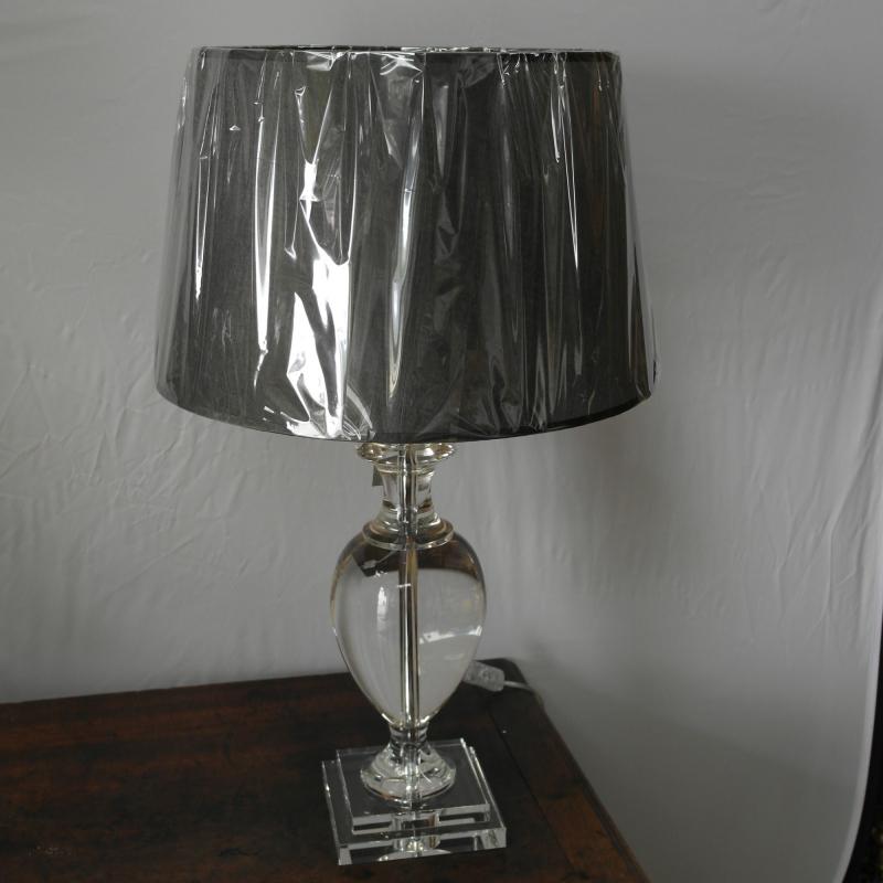 lampe balustre cameo en cristal moinat sa antiquit s. Black Bedroom Furniture Sets. Home Design Ideas