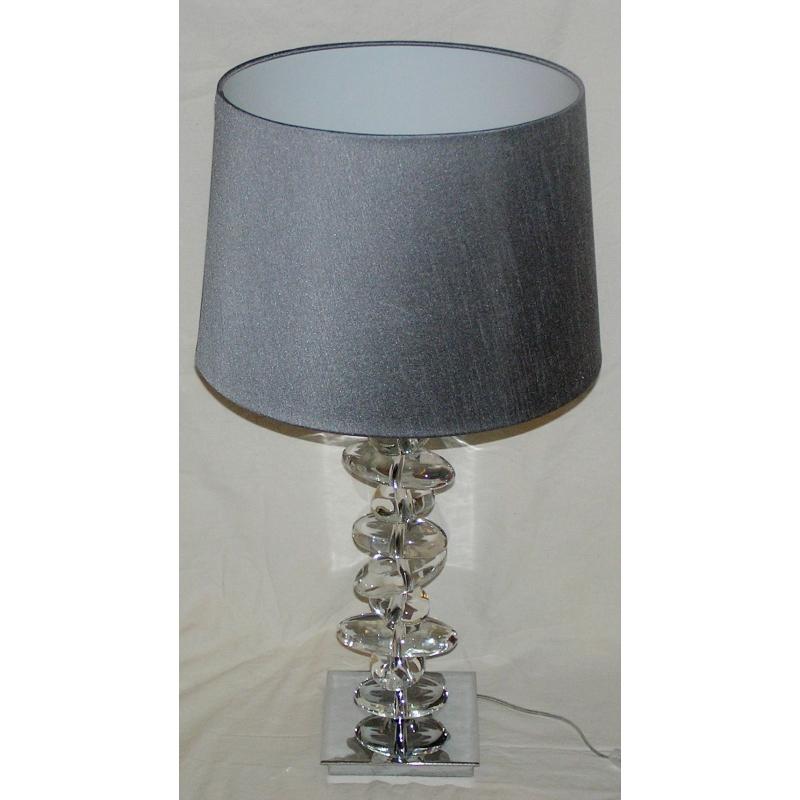 lampe tour de cailloux en cristal sur moinat sa. Black Bedroom Furniture Sets. Home Design Ideas