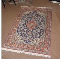 Tapis  Ghum , Iran, laine et soie
