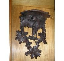 Console de Brienz en bois sculpté