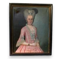 Porträt von Regina Augusta Dorothea Grauel.