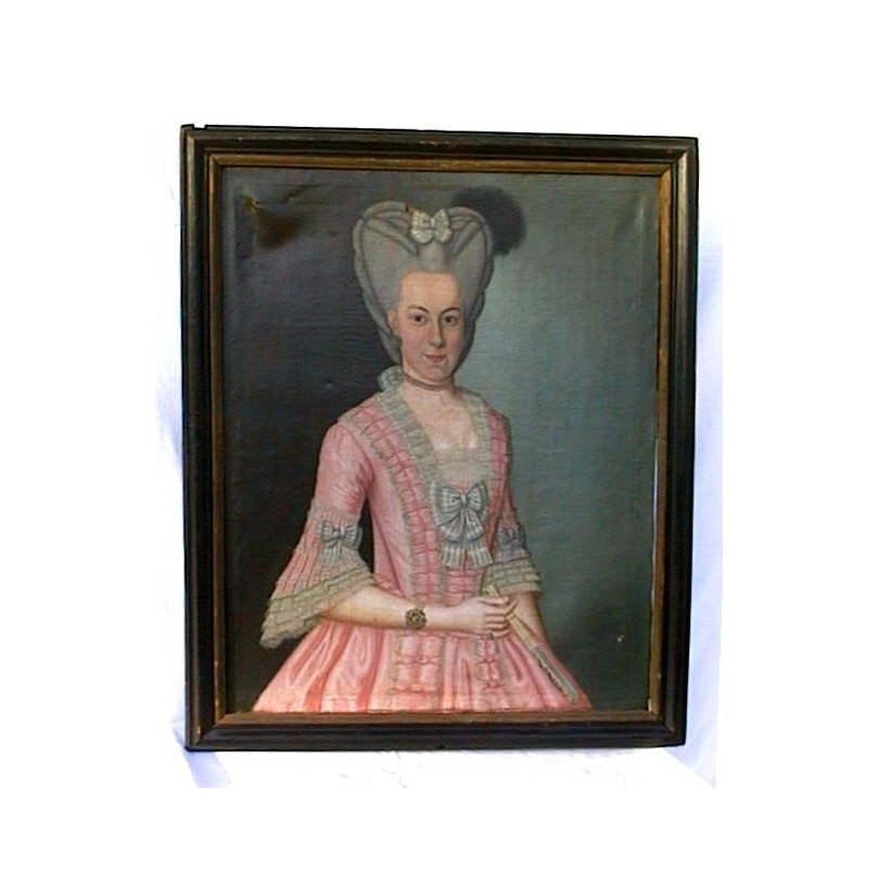 Portrait de Regina Augusta Dorothea Grauel.