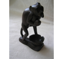 "Sculpture in ebony, ""Monkey"""
