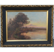 Painting signed LOUIS LETSCH