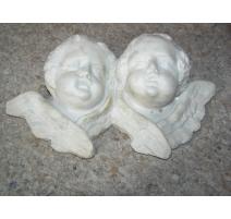 """Sculpture """"Têtes d'anges"""""""