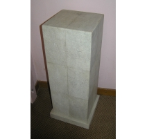 Column Art Deco-shagreen, color
