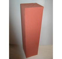 Column wood covered with fabric