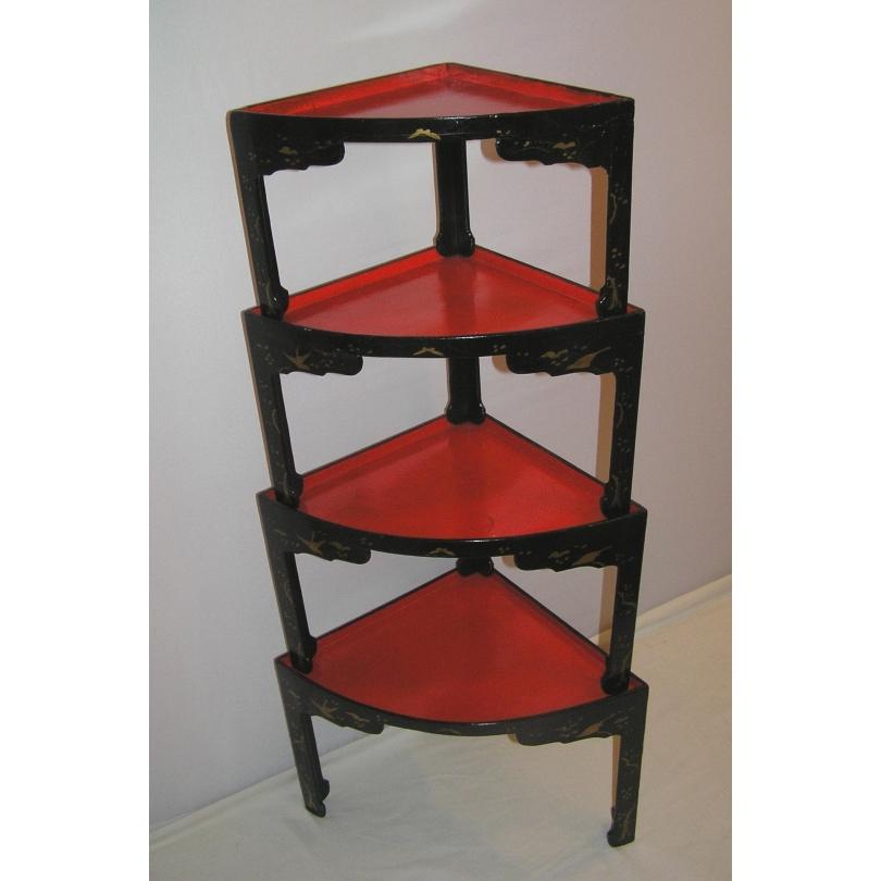 lot de 4 petites tables gigognes sur moinat sa antiquit s d coration. Black Bedroom Furniture Sets. Home Design Ideas