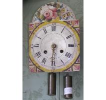 Pendule, décor peint, Allemagne