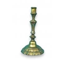 Paire de bougeoirs Régence en bronze doré