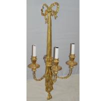 Applique style Louis XVI en bois doré