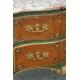 Commode Louis XV peinte faux bois