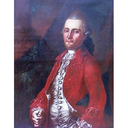 """Tableau """"Portrait notable""""."""
