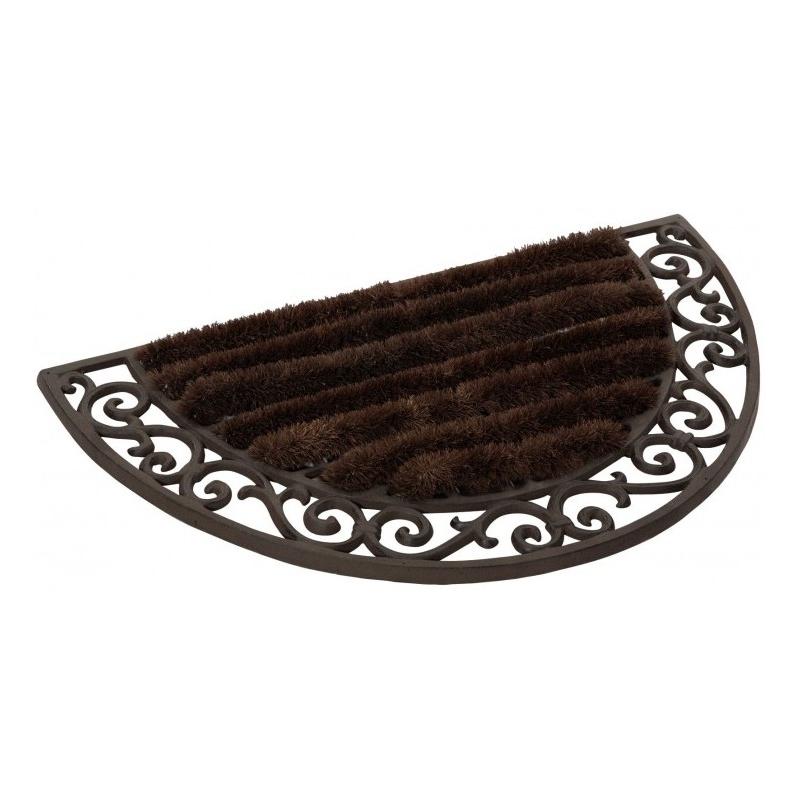 paillasson demi lune en fonte moinat sa antiquit s d coration. Black Bedroom Furniture Sets. Home Design Ideas
