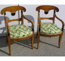 Set of 4 chairs and 2 armchairs executive Board.