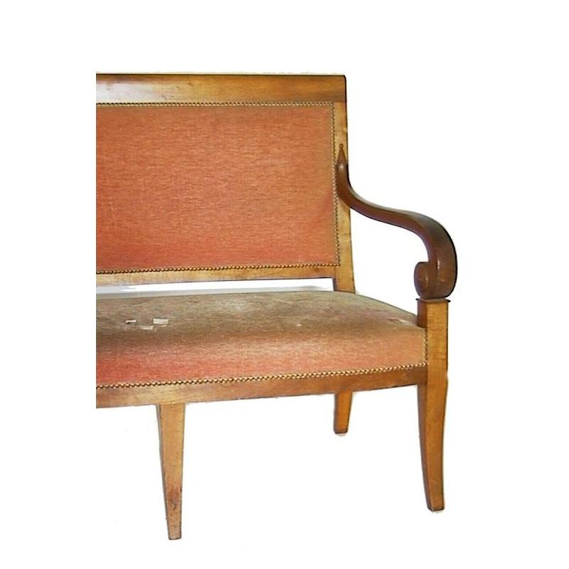 Salon directoire 1 canap 2 fauteuils 2 chaises sur for Canape directoire