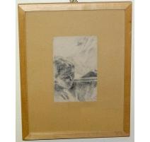 """Dessin """"Portrait"""" de Otto VAUTIER"""