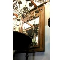 Sellette style Louis XVI en acajou, pied tripode