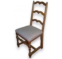 Serie von 6 stühlen, Louis XIII mit distanzstück H -