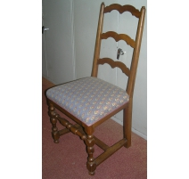 Set of 6 chairs Louis XIII with spacer H