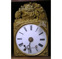 Horloge, mouvement de morbier à
