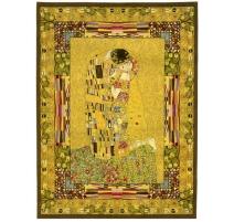 """Tapisserie """"Le baiser"""" de Klimt"""
