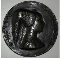 "Pièce en bronze marquée ""D'ISOTTAE"
